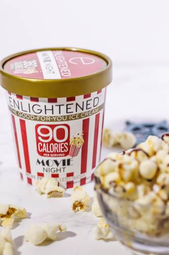 enlightened ice cream movie night
