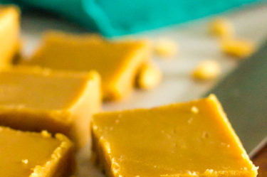 low carb peanut butter fudge, sugar free, keto