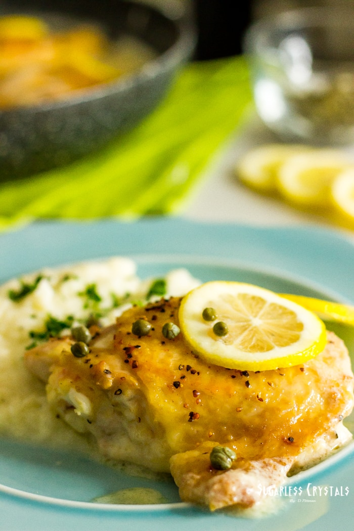low carb italian chicken piccata