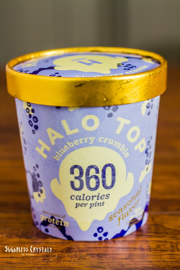 halo top new flavor blueberry crumble