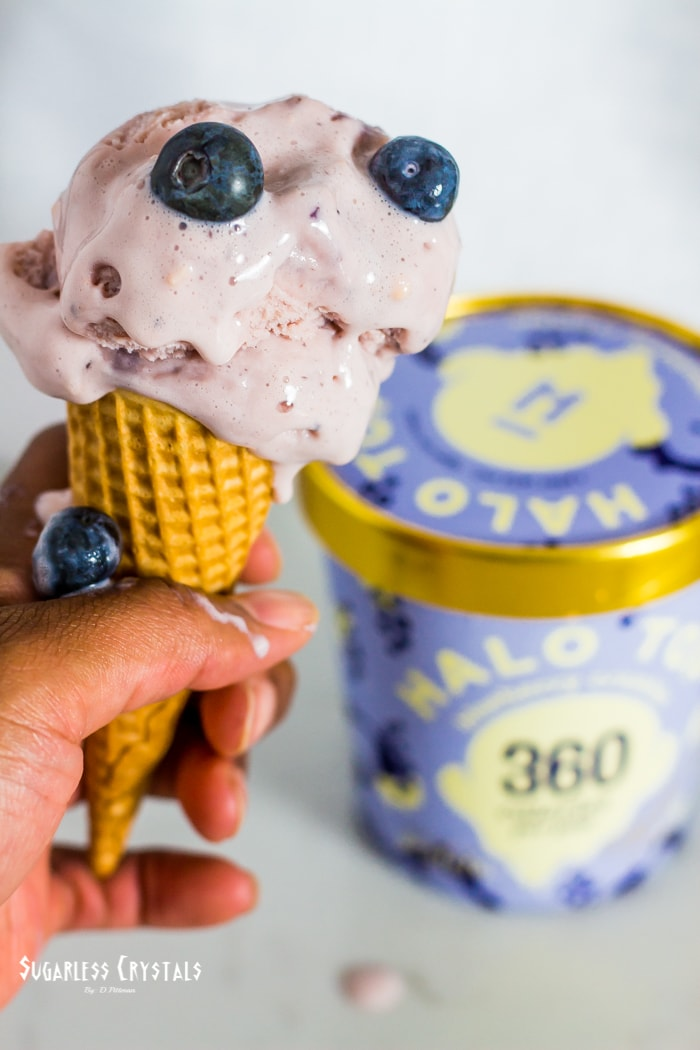 halo top ice cream new flavor blueberry crumble