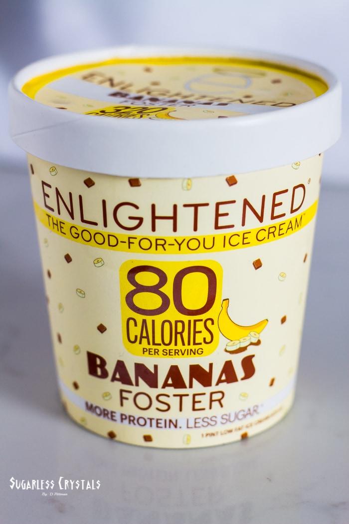 enlightened ice cream bananas foster