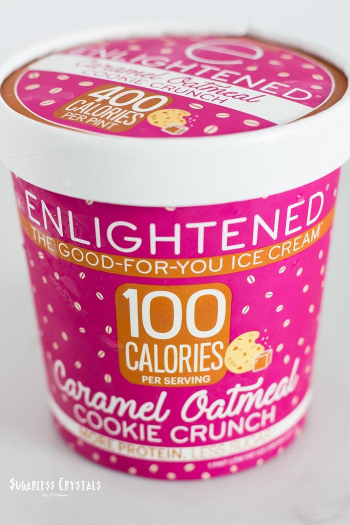 enlightened caramel oatmeal cookie crunch