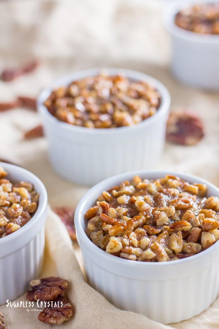 Pecan Pumpkin Spice Keto Mug Cake (Low Carb, Sugar Free, Grain Free)