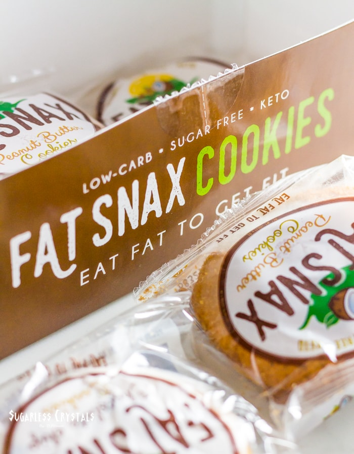 fat snax box of cookies