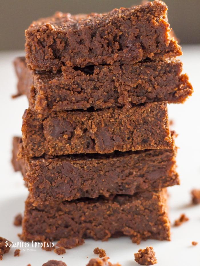Chocolate Keto Brownies (Low Carb, Sugar-free, Grain-Free)