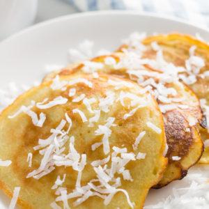 Coconut Milk Pancakes