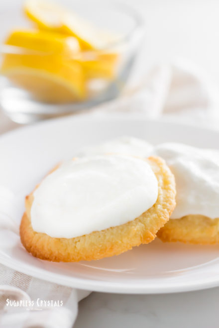 Lemon Keto Cookies(Gluten Free, Low Carb)