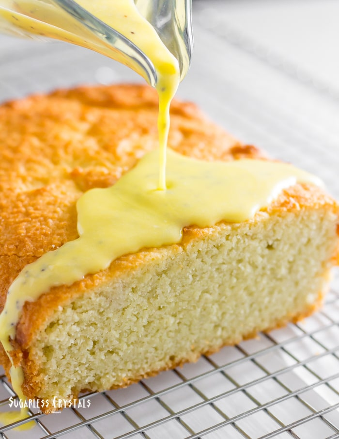 Lemon Keto Pound Cake (Low Carb, Sugar Free, Gluten Free)
