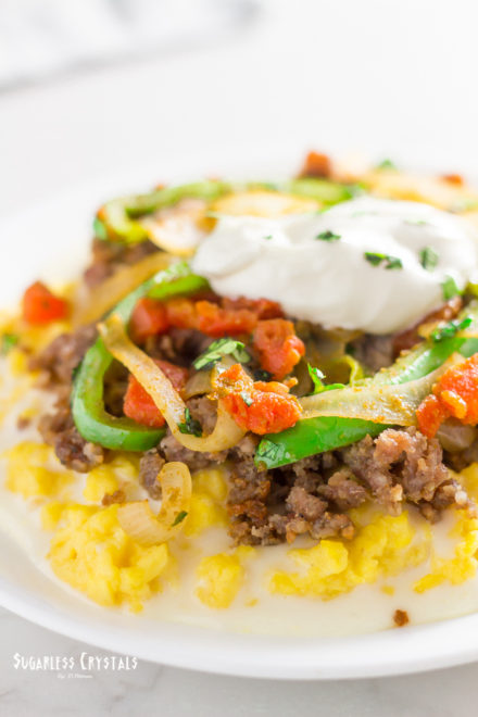 Healthy Mexican-Style Breakfast Scramble