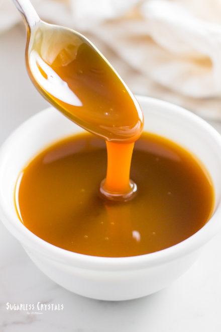 Easy 3 Ingredient Keto Caramel Sauce