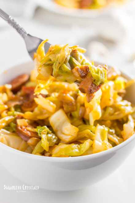 Skillet Cabbage and Sausage Recipe