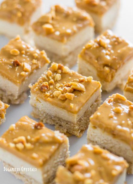 Keto Peanut Butter Cheesecake Bites