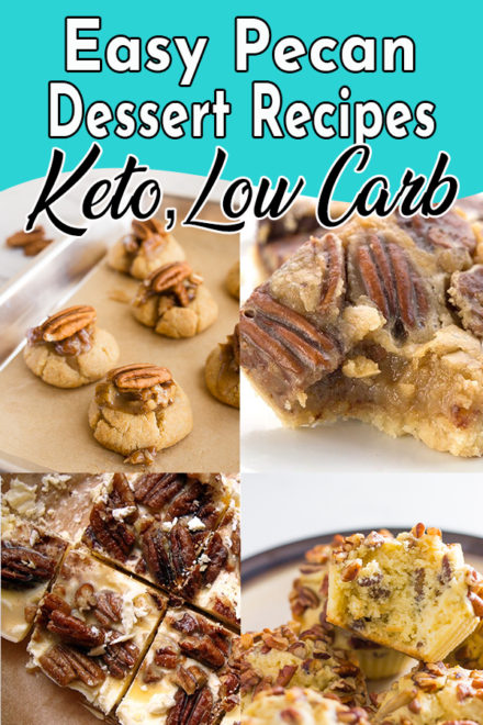 5 Ways to Make Keto Pecan Dessert Recipes