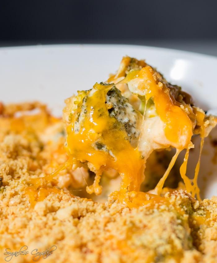 Homemade Keto Broccoli Casserole