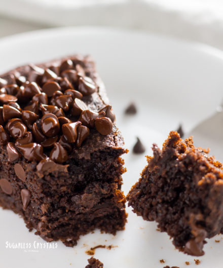 Chocolate Lover's Keto Chocolate Cake