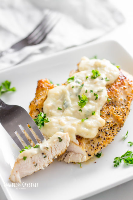 Real & Authentic Keto Alfredo Sauce