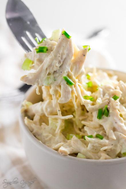 The Best Keto Chicken Salad Recipe!