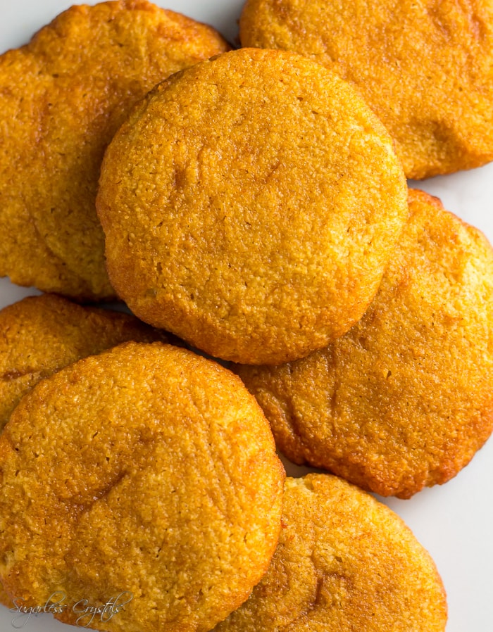 The Greatest Keto Snickerdoodles