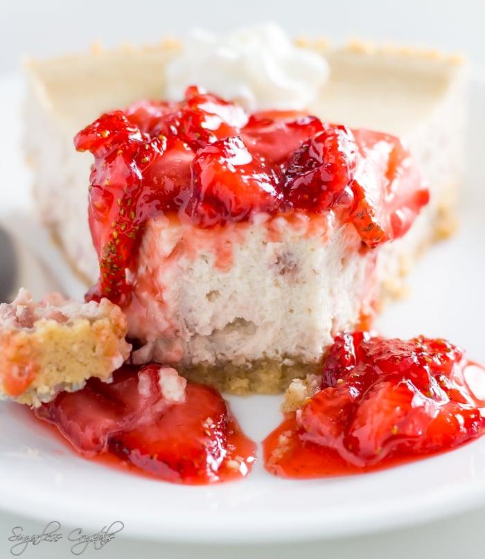 keto strawberry cheesecake