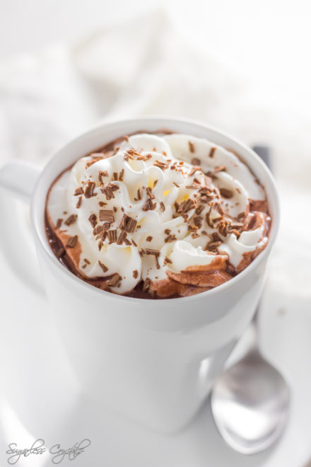 Keto Hot Chocolate That's Only 3g Net Carbs