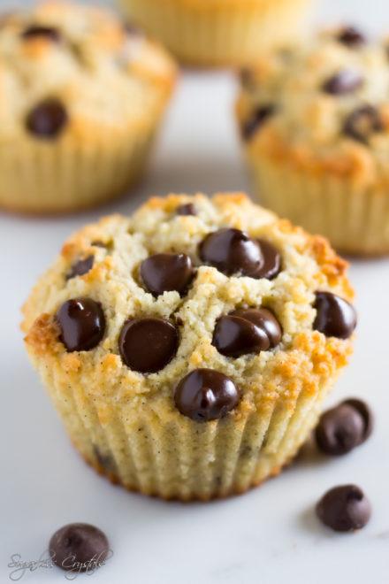 Keto Chocolate Chip Muffins