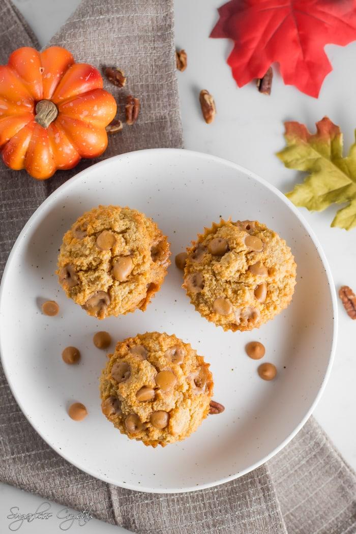 pumpkin muffins with almond flour