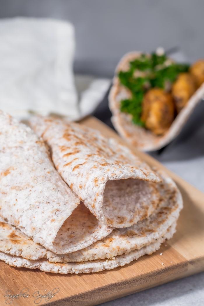 Coconut Flour Tortillas