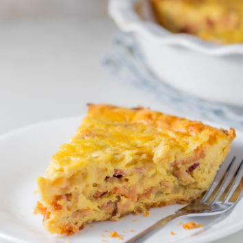 Keto Quiche Recipe With A Crust