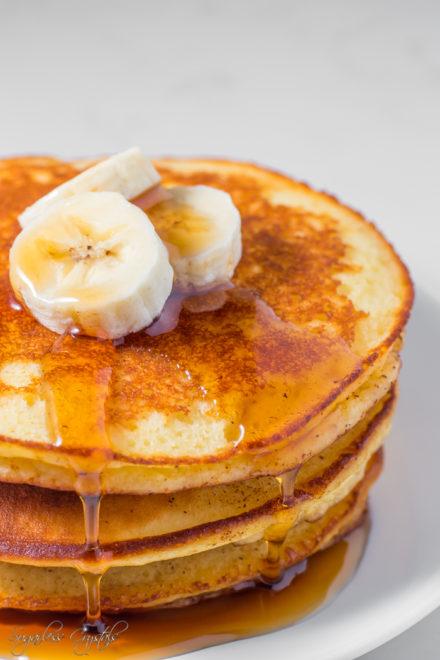 Fluffy Keto Cream Cheese Pancakes