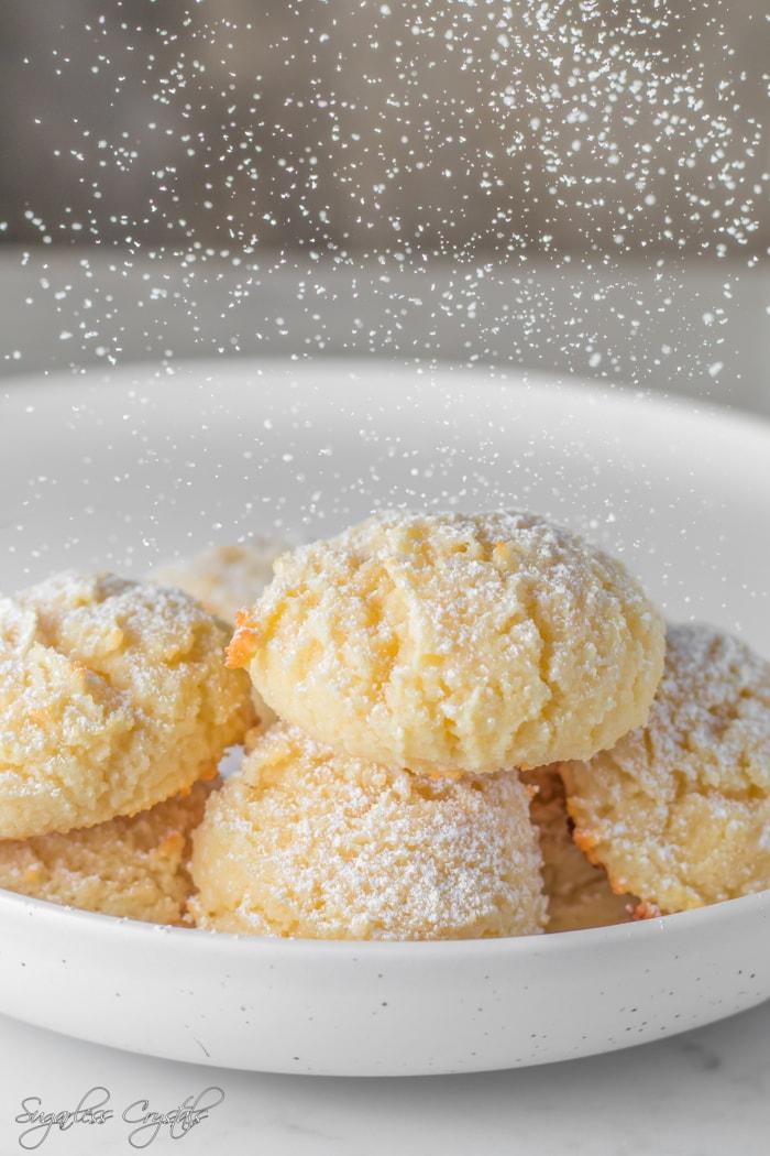 Fluffy Keto Cream Cheese Cookies