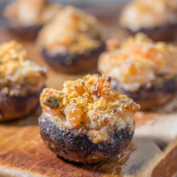 shrimp stuffed mushrooms