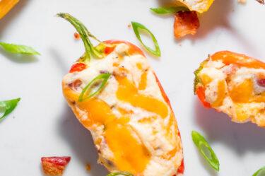 Cream Cheese Stuffed Peppers