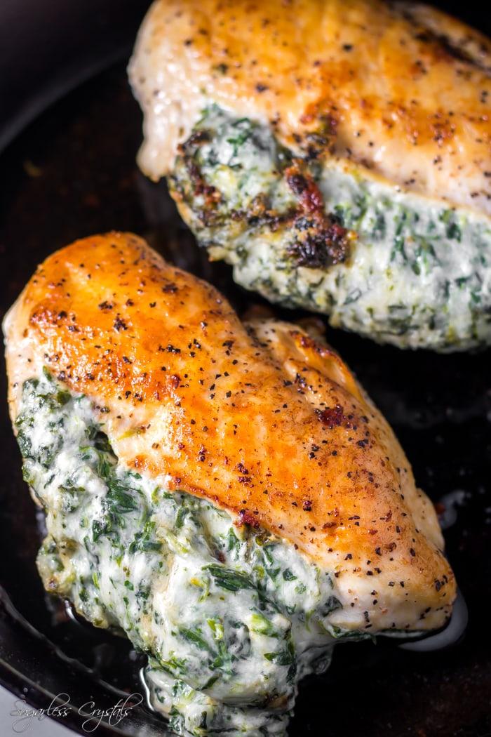 Keto Stuffed Chicken