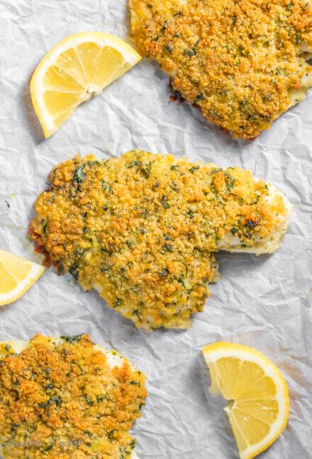 Parmesan Crusted Fish