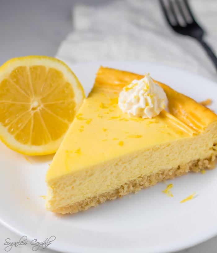 Keto Lemon Cheesecake