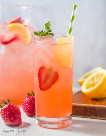 Keto Strawberry Lemonade