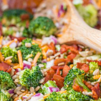 Keto Broccoli Salad