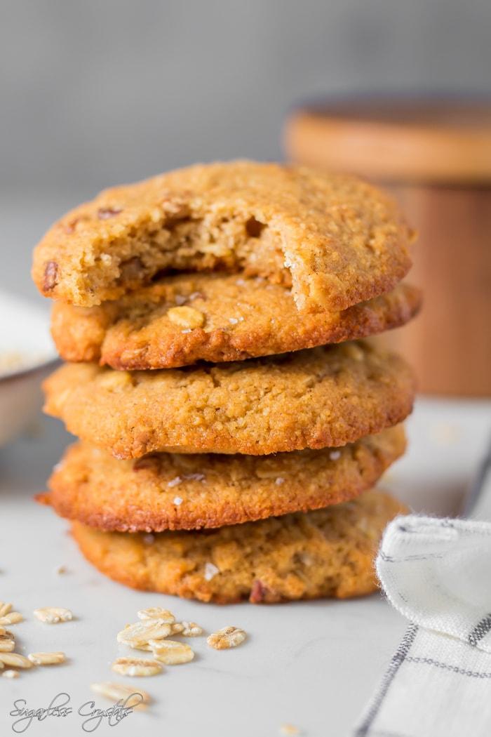 Keto Oatmeal Cookies