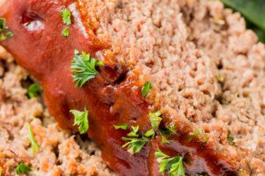 Sliced Keto Meatloaf