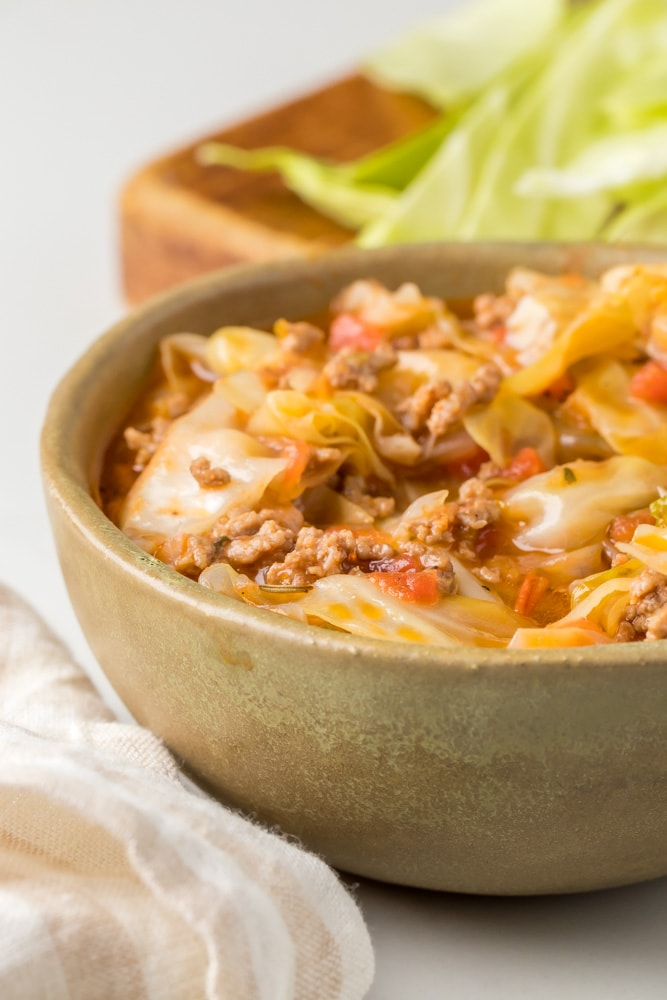 Keto Cabbage Soup