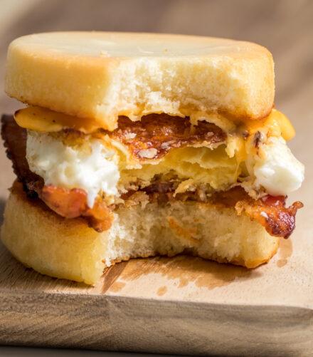 Keto English Muffin