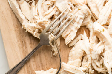 Boiled Shredded Chicken
