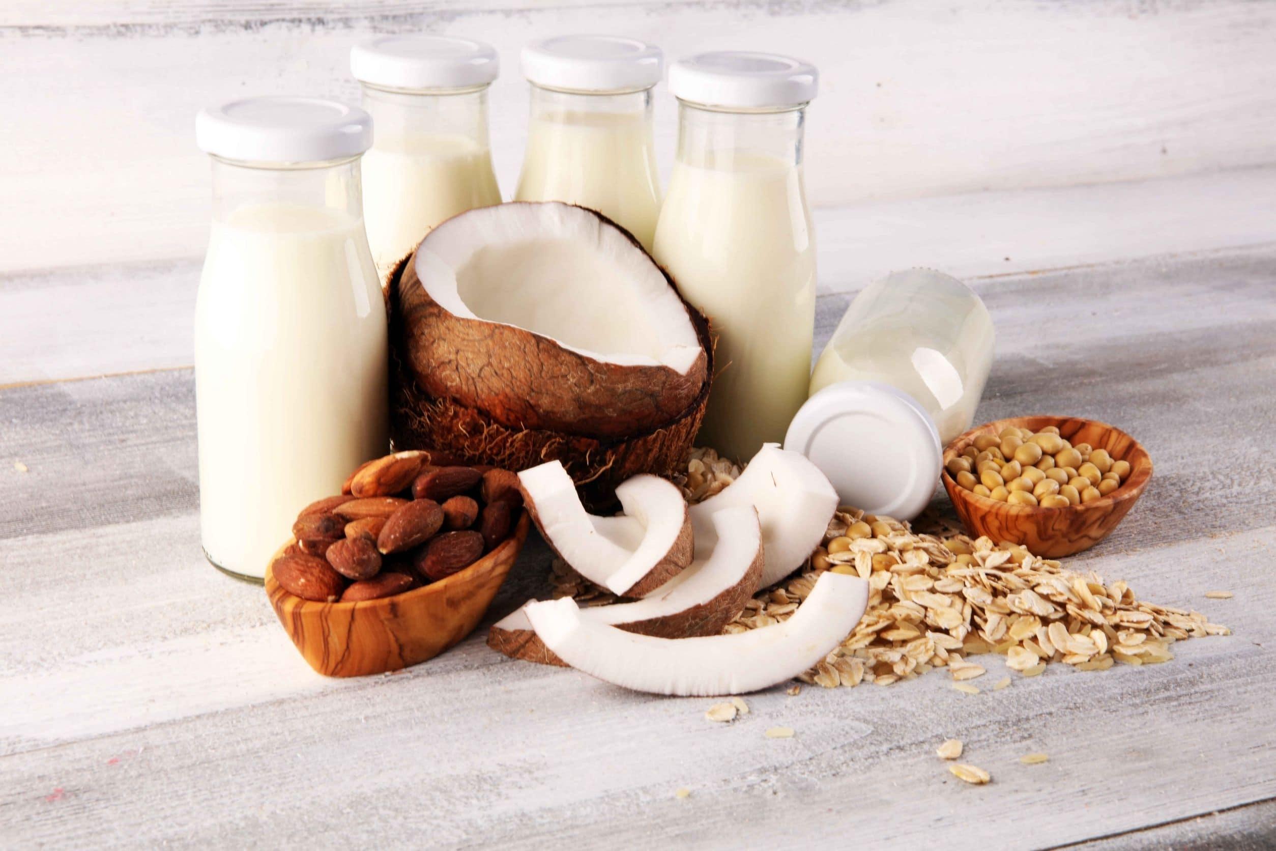 plant-based milk for keto