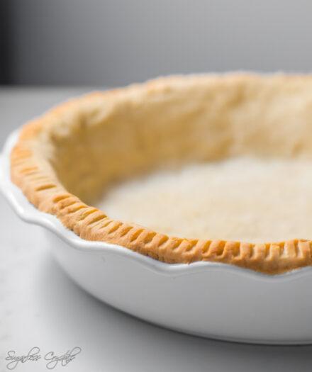 Keto Pie Crust w/ Almond Flour & Coconut Flour
