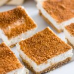 Snickerdoodle Keto Cheesecake that is a sugar-free snack