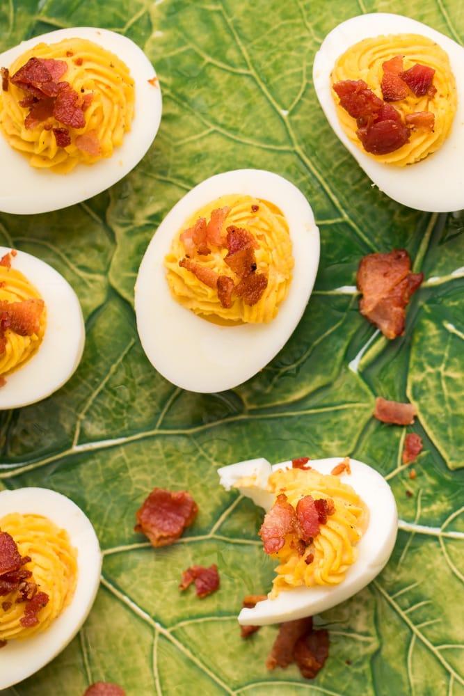 Keto Deviled Eggs
